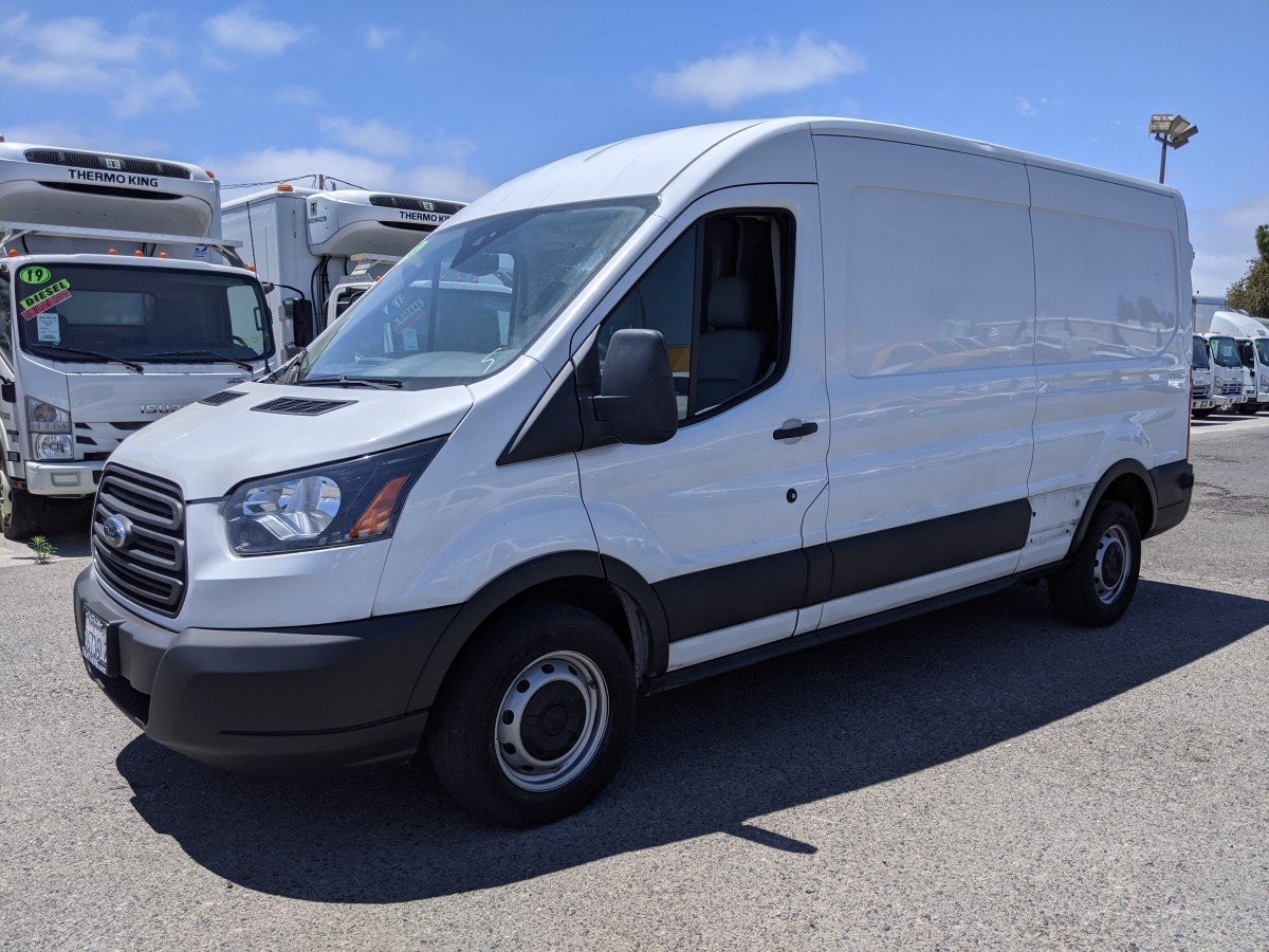 Used 2018 Ford Transit-250 Long Mid Roof Cargo Van in Fountain Valley, CA