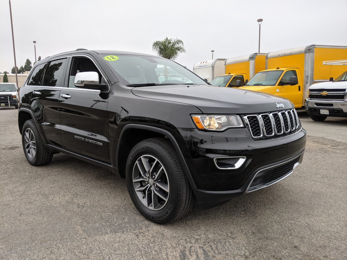 Used 2018 Jeep Grand Cherokee Limited 4X4 in Fountain Valley, CA