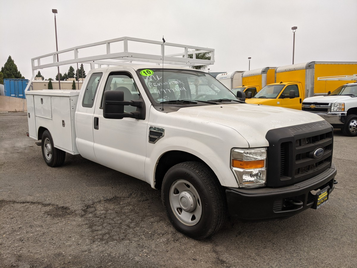 Used 2010 Ford F-250 SD Utility Truck Supercab XL in Fountain Valley, CA