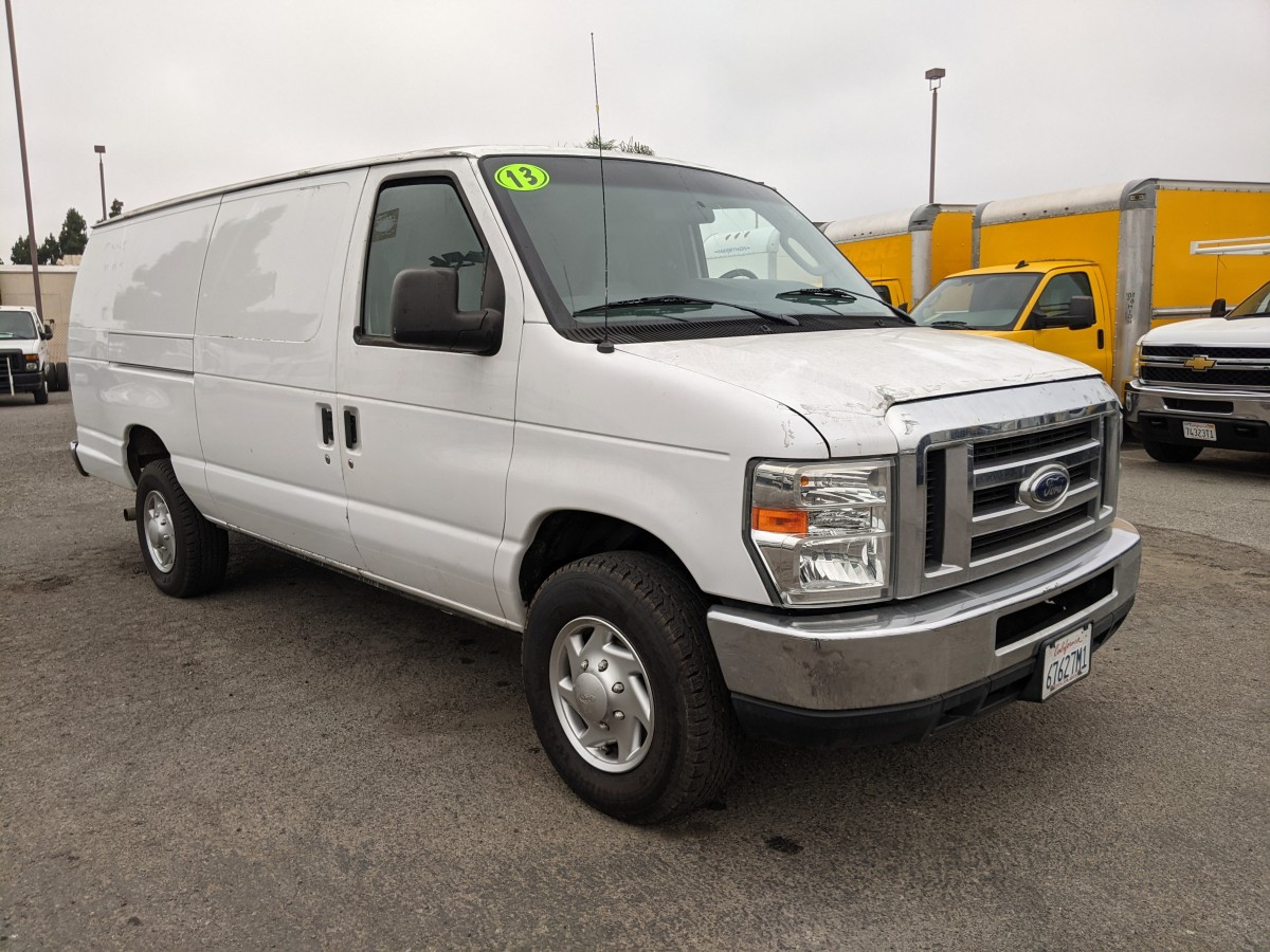 Used 2013 Ford E-350 Extended Cargo Van FLEX FUEL in Fountain Valley, CA