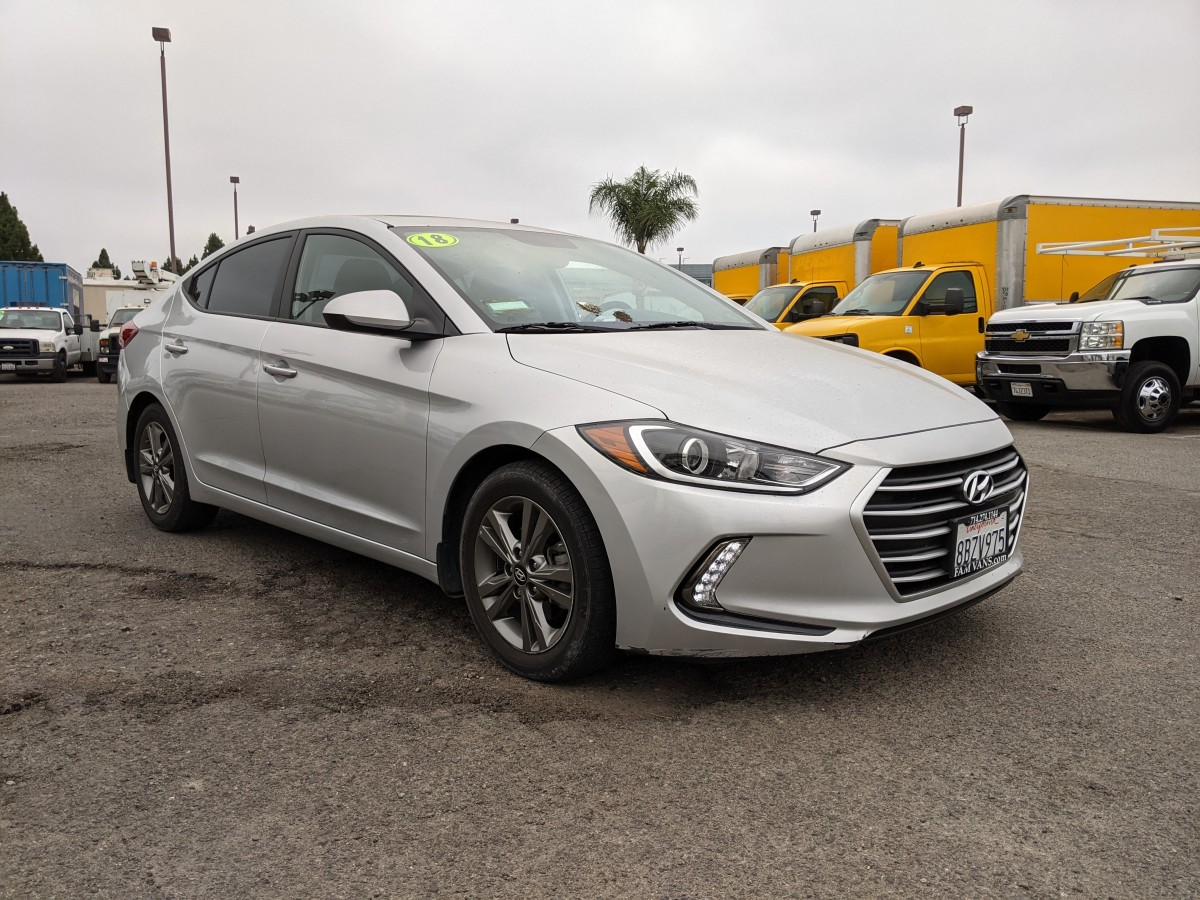 Used 2018 Hyundai Elantra Limited 4DR Sedan in Fountain Valley, CA