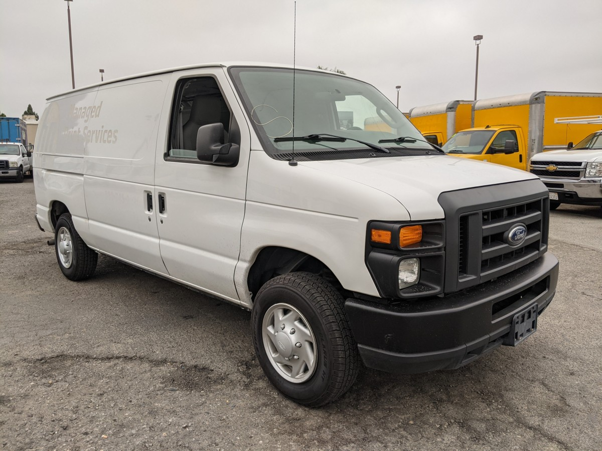 Used 2014 Ford E-150 Cargo Van FLEX FUEL in Fountain Valley, CA