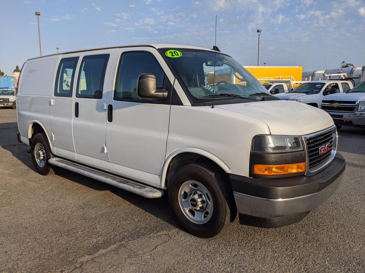 Used 2020 GMC Savana 2500 Cargo Van with Bulkhead in Fountain Valley, CA