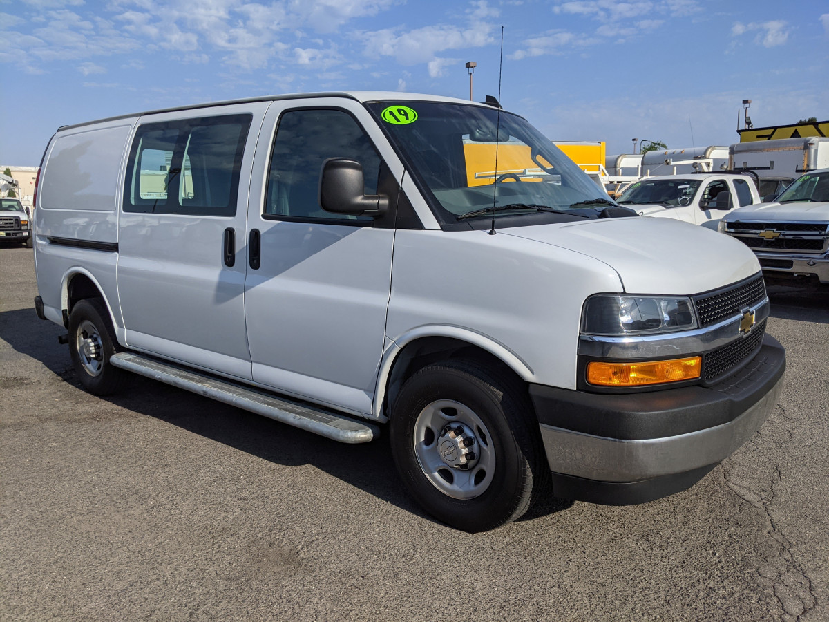Used 2019 Chevrolet Express 2500 Cargo Van with Bulkhead in Fountain Valley, CA