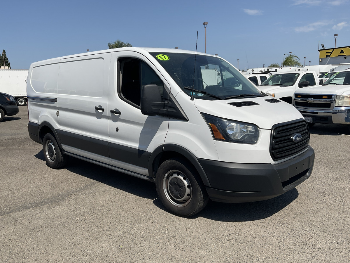 Used 2017 Ford Transit-150 Low Roof Cargo Van with Bulkhead in Fountain Valley, CA