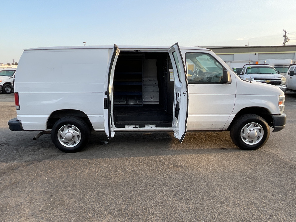Used 2014 Ford E-150 Utility Cargo Van FLEX FUEL in Fountain Valley, CA