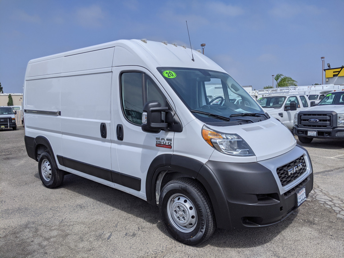 Used 2020 RAM ProMaster 1500 High Roof Cargo Van in Fountain Valley, CA