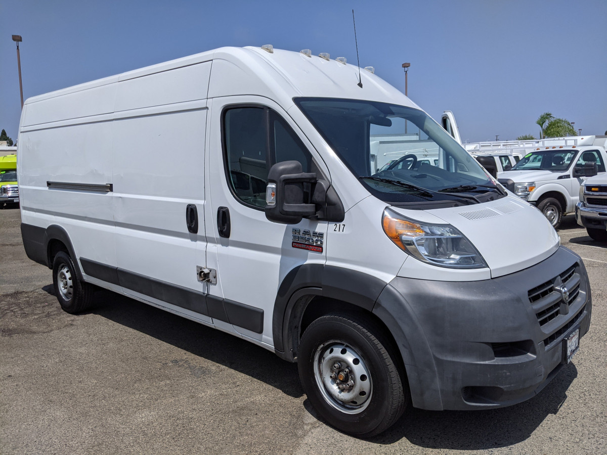 Used 2014 RAM ProMaster 3500 Extended High Roof Cargo Van in Fountain Valley, CA