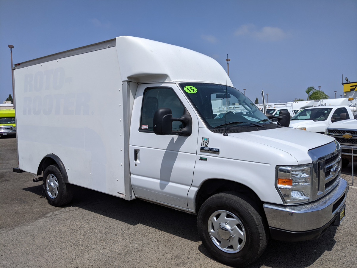 Used 2016 Ford E-350 SD 10FT Box Truck FLEX FUEL in Fountain Valley, CA