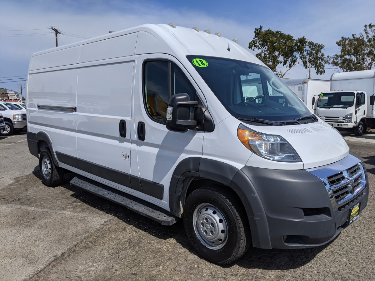 Used 2018 RAM ProMaster 2500 Extended High Roof Cargo Van in Fountain Valley, CA