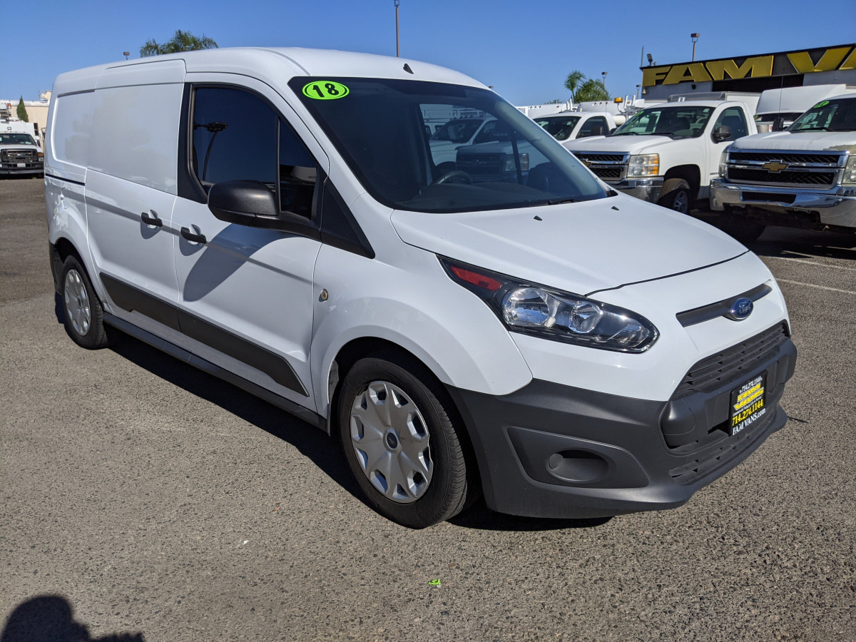 Used 2018 Ford Transit Connect Long Cargo Mini Van XL in Fountain Valley, CA