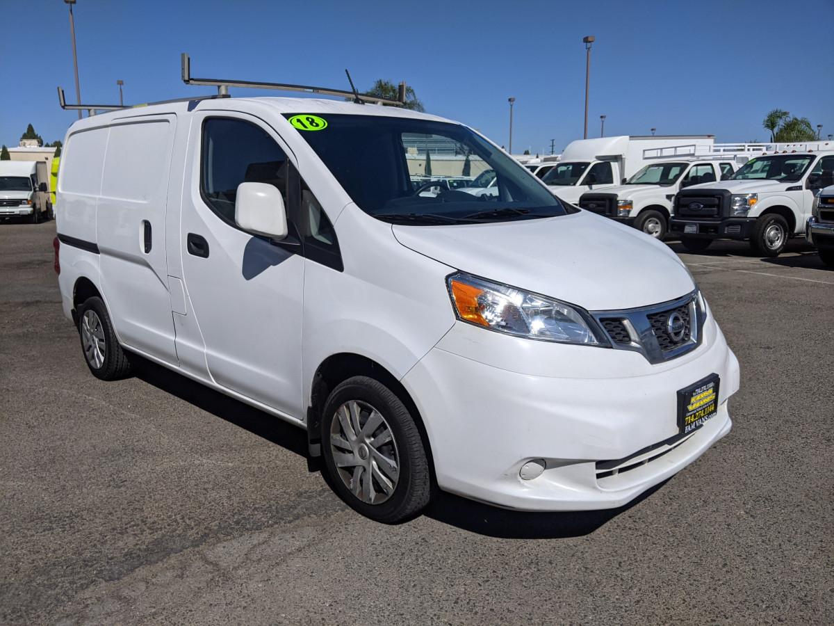 Used 2018 Nissan NV200 SV Utility Cargo Mini Van in Fountain Valley, CA