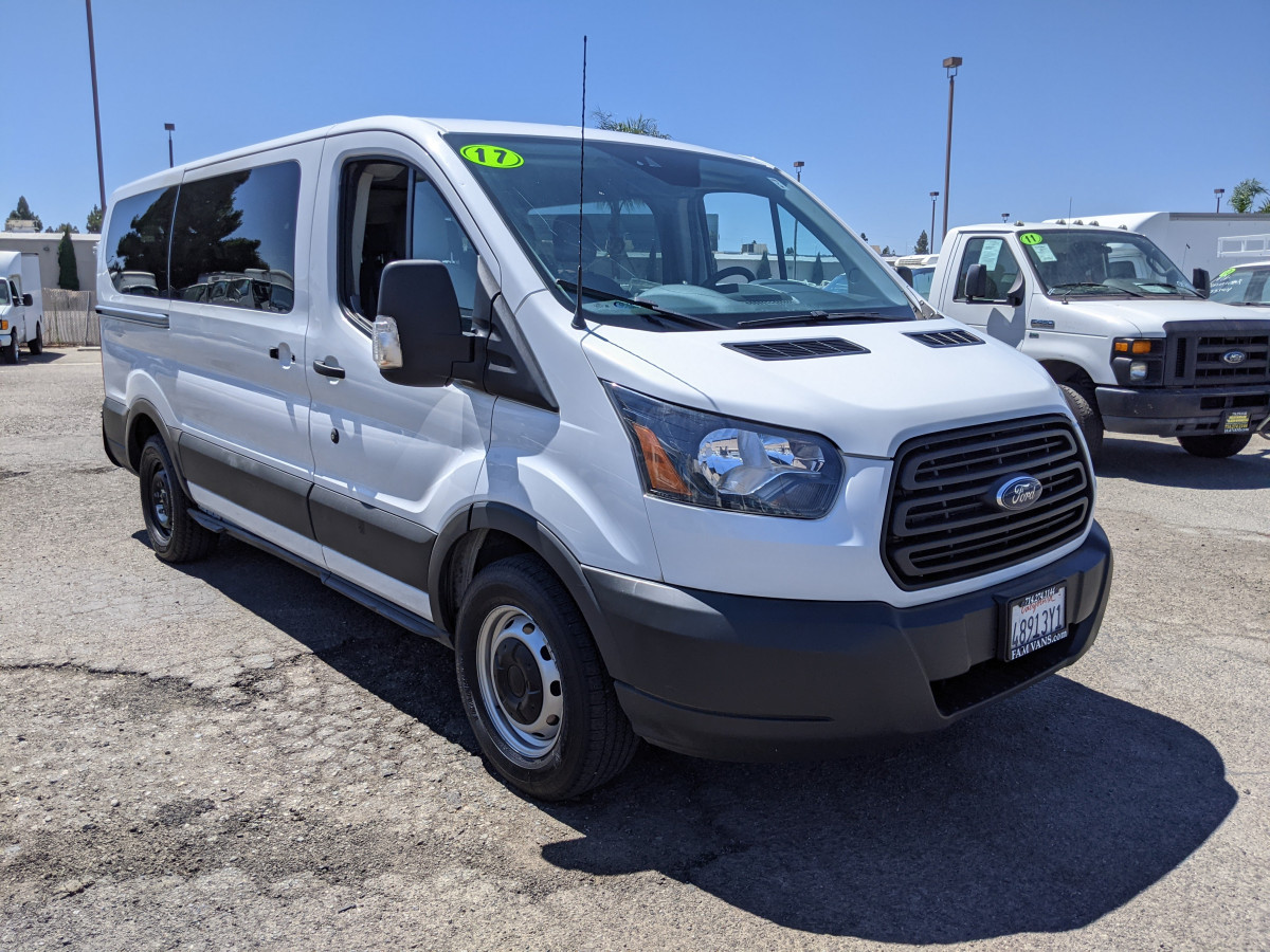 Used 2017 Ford Transit-150 Low Roof Passenger Van XLT FLEX FUEL in Fountain Valley, CA