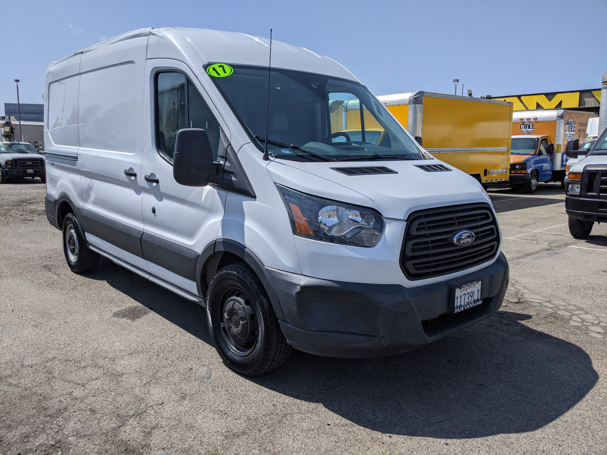 Used 2017 Ford Transit-150 Mid Roof Cargo Van DING AND DENT in Fountain Valley, CA