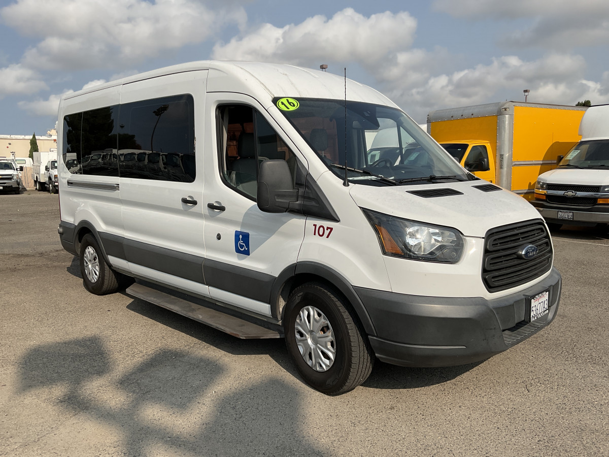 Used 2016 Ford Transit-150 Long Mid Roof Wheelchair Access Handicap Van DIESEL  in Fountain Valley, CA