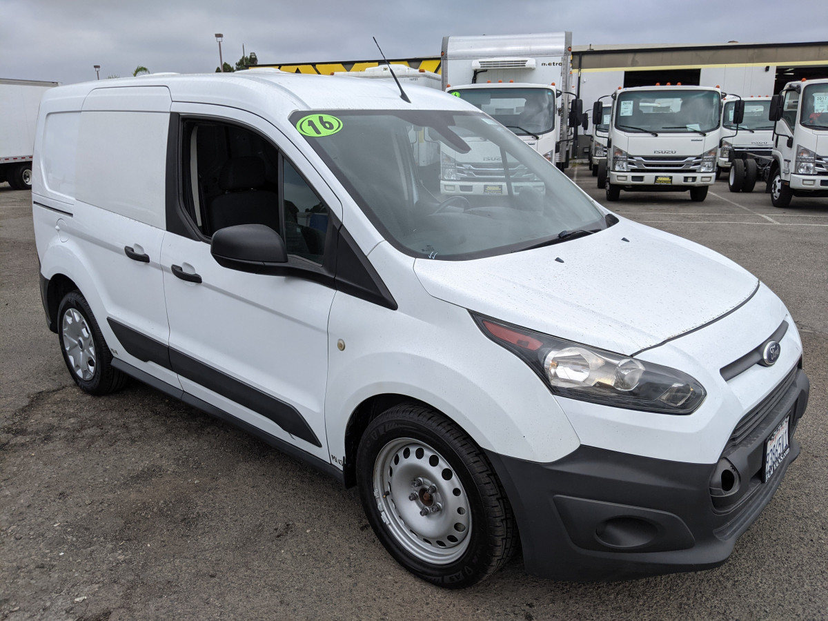 Used 2016 Ford Transit Connect Cargo Mini Van in Fountain Valley, CA