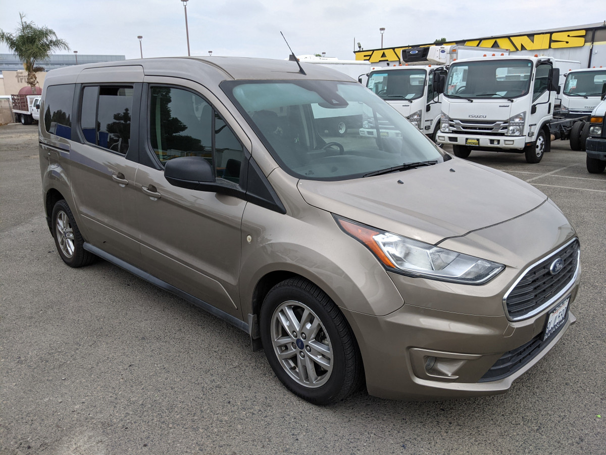 Used 2019 Ford Transit Connect Long Passenger Mini Van XLT in Fountain Valley, CA