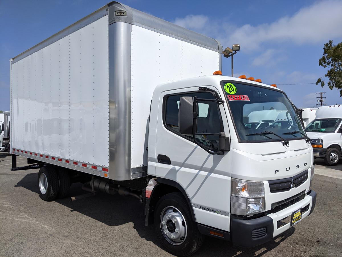 Used 2020 Mitsubishi Fuso FE140 16FT Box Truck in Fountain Valley, CA