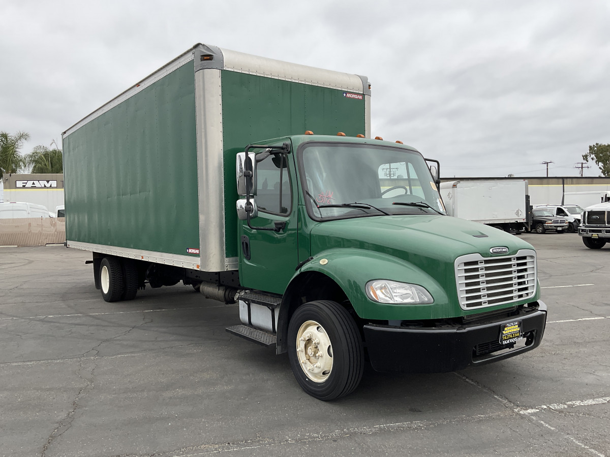 Used 2014 Freightliner M2 106 24FT Box Truck DIESEL in Fountain Valley, CA