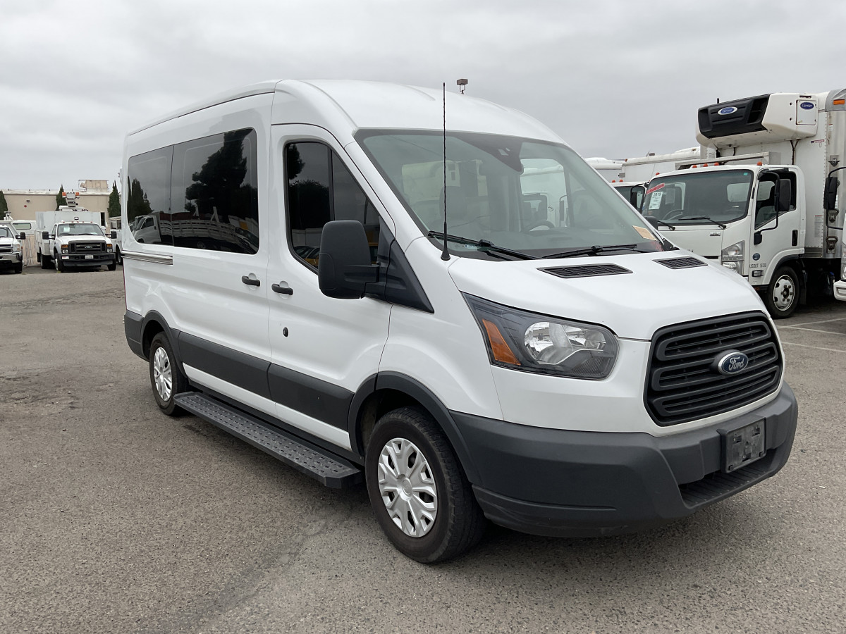 Used 2018 Ford Transit-150 Mid Roof Wheelchair Access Handicap Van in Fountain Valley, CA