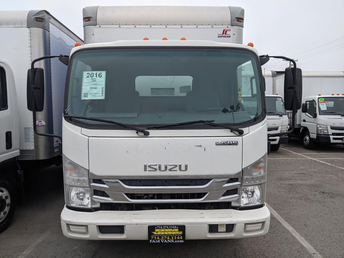 Used 2016 Isuzu NPR 14FT Box Truck in Fountain Valley, CA