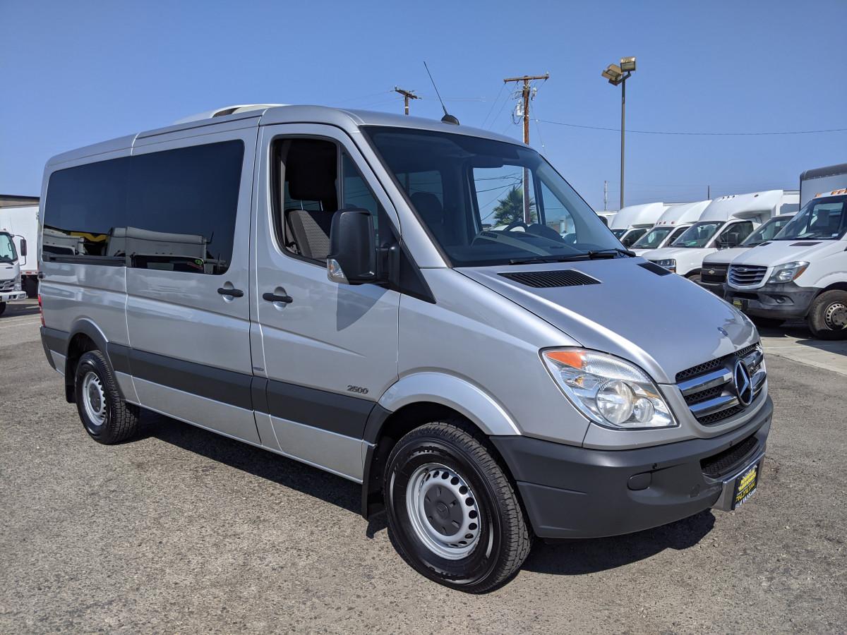 Used 2012 Mercedes-Benz Sprinter 2500 LOW Roof Passenger Van 144WB DIESEL in Fountain Valley, CA