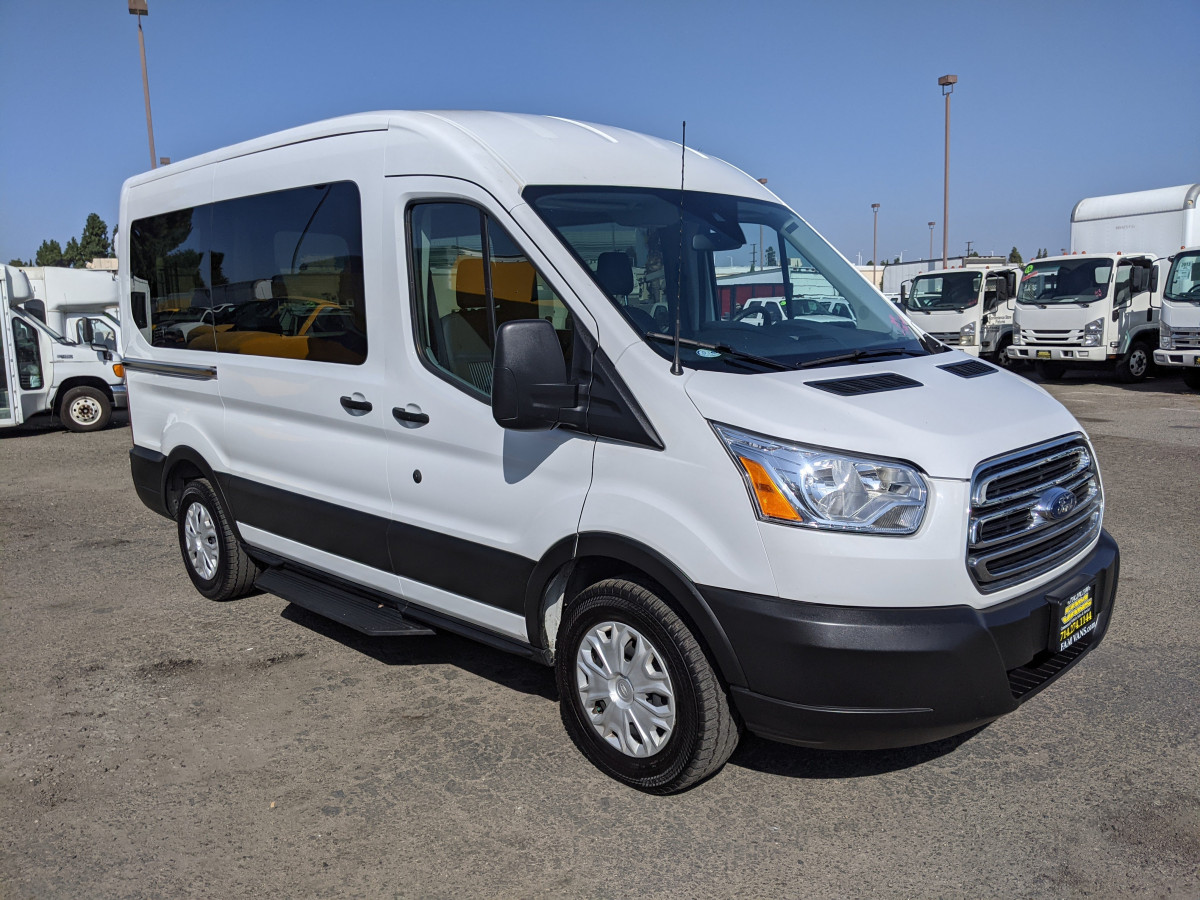 Used 2019 Ford Transit-150 Mid Roof Passenger Van XLT ECOBOOST in Fountain Valley, CA