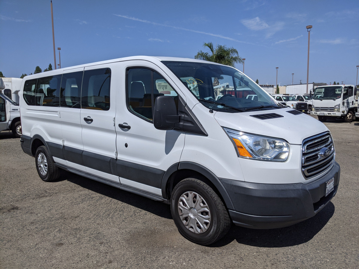 Used 2016 Ford Transit-350 Long Low Roof Passenger Van XLT in Fountain Valley, CA