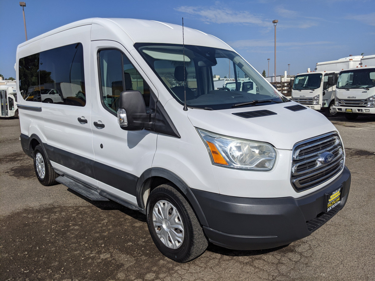 Used 2016 Ford Transit-150 Mid Roof Passenger Van XLT in Fountain Valley, CA