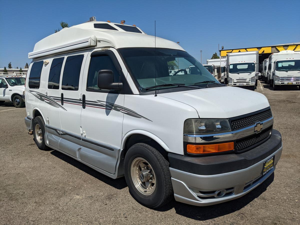 Used 2012 Chevrolet Express 2500 Road Trek Conversion Camper Passenger Van in Fountain Valley, CA