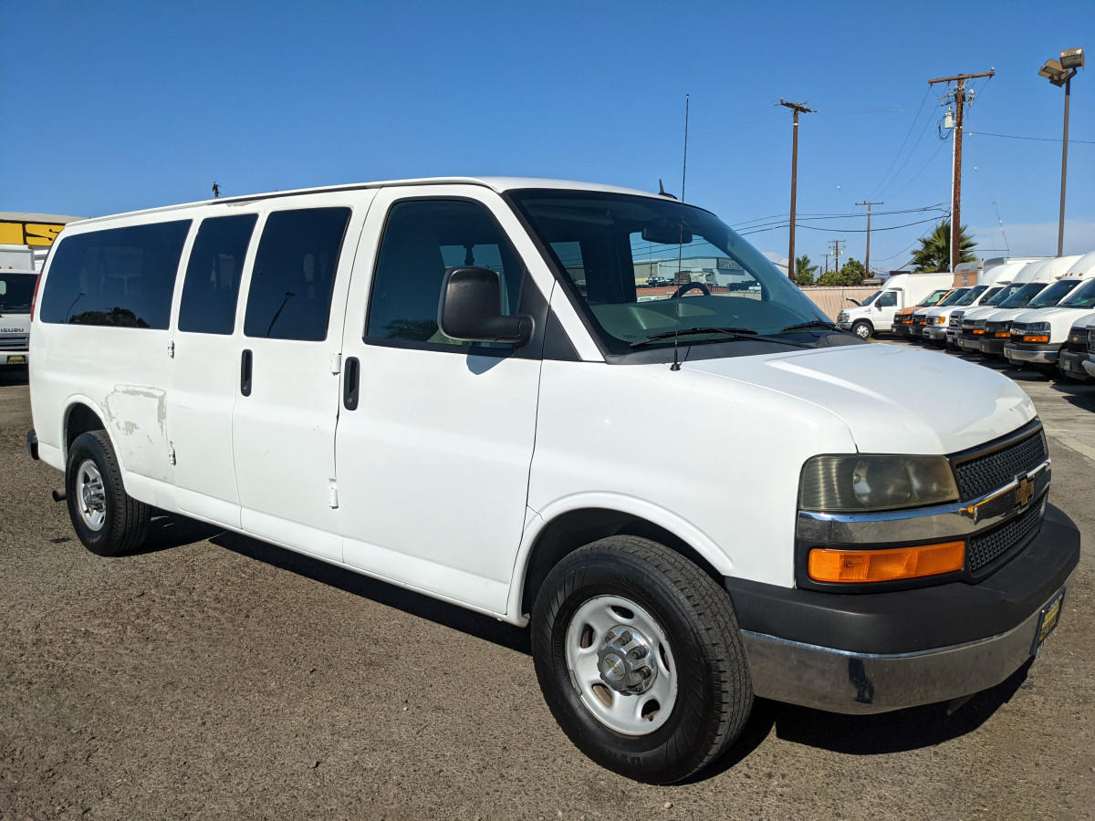 Used 2012 Chevrolet Express 3500 Extended Passenger Van in Fountain Valley, CA