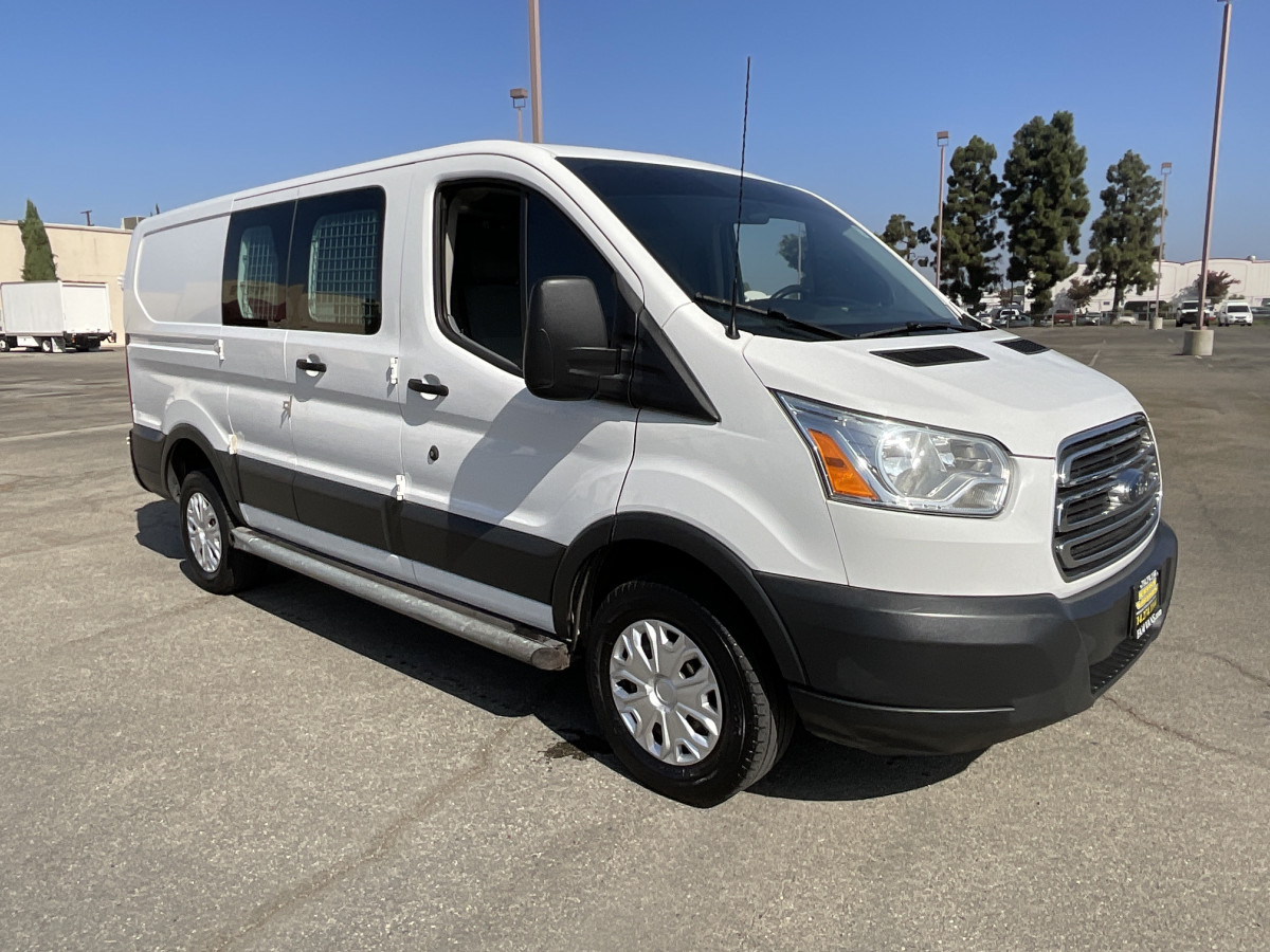 Used 2015 Ford Transit-250 Low Roof Cargo Van in Fountain Valley, CA