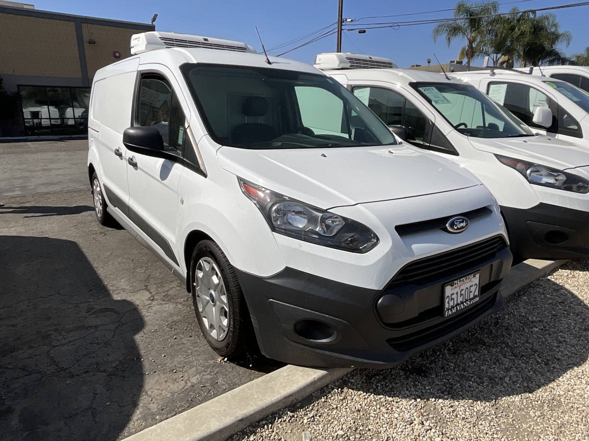 Used 2016 Ford Transit Connect Long Refrigeration Cargo Mini Van Reefer in Fountain Valley, CA