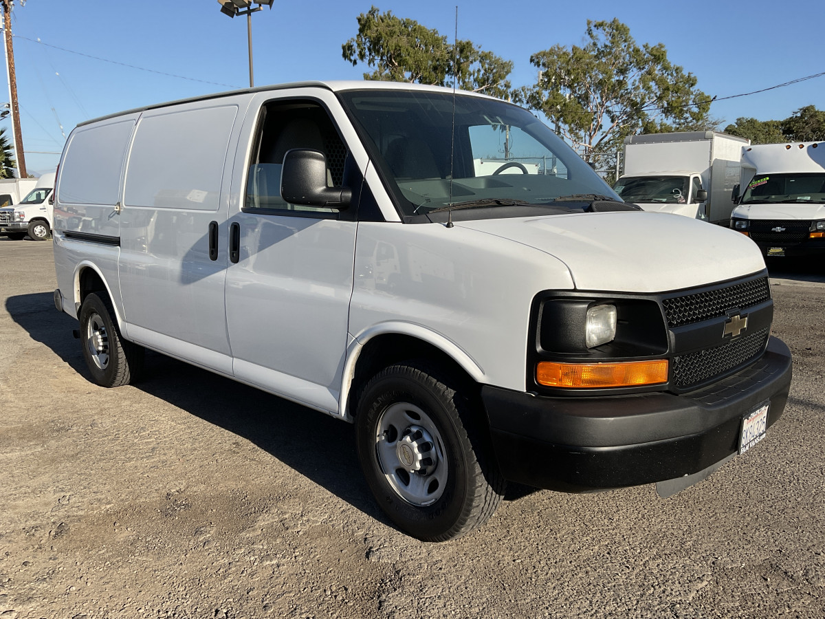 Used 2014 Chevrolet Express 3500 Utility Cargo Van in Fountain Valley, CA