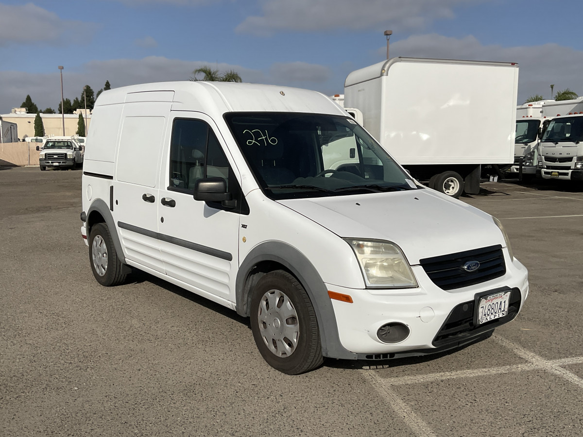 Used 2011 Ford Transit Connect Cargo Mini Van with Bulkhead XLT in Fountain Valley, CA