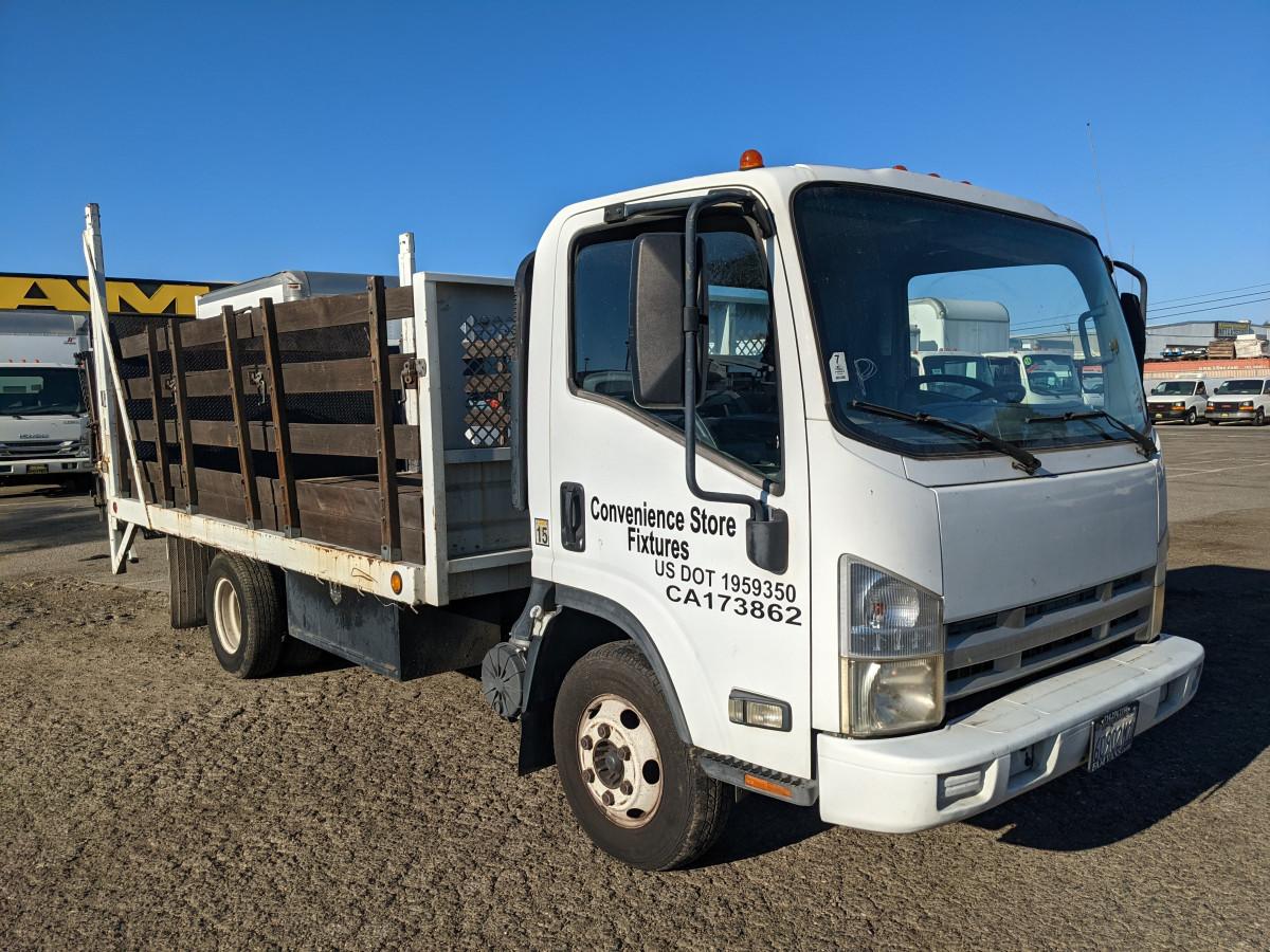 Used 2007 Isuzu NPR 16FT Stake Bed Truck DIESEL in Fountain Valley, CA