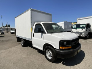 Used 2016 Chevrolet Express 3500 14FT Box Truck with Liftgate in Fountain Valley, CA