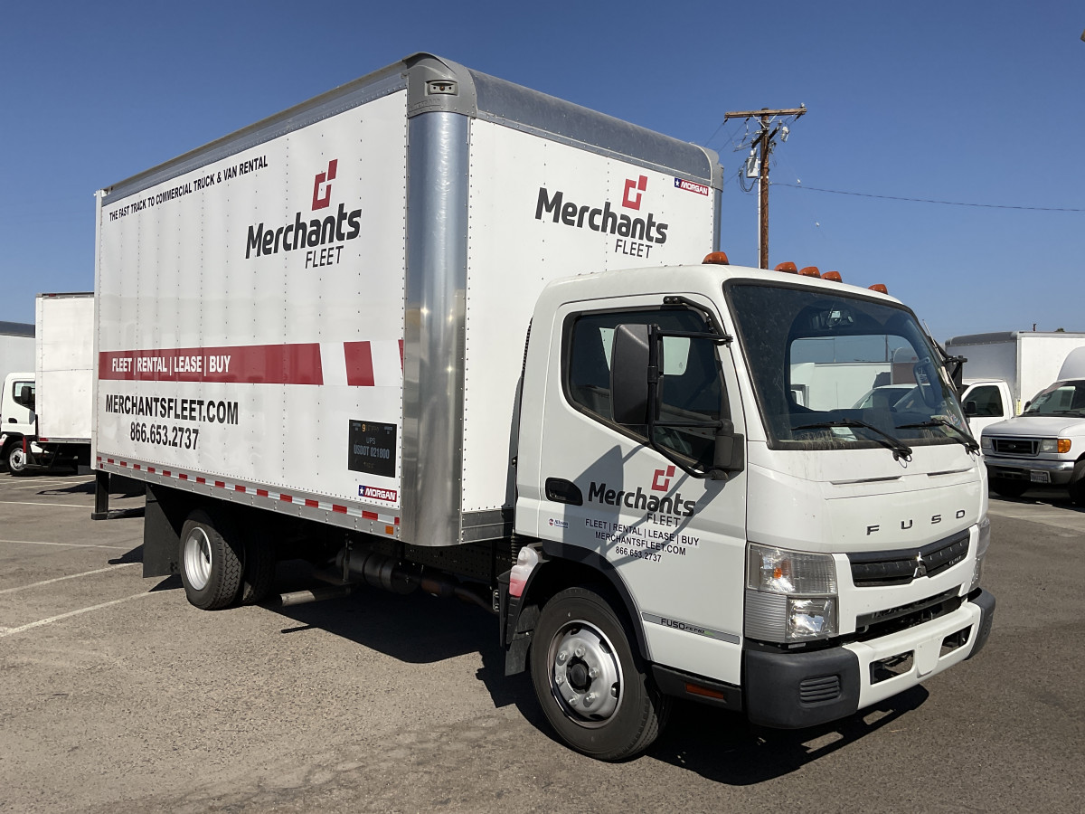 Used 2020 Mitsubishi Fuso FE140 16FT Box Truck DIESEL in Fountain Valley, CA
