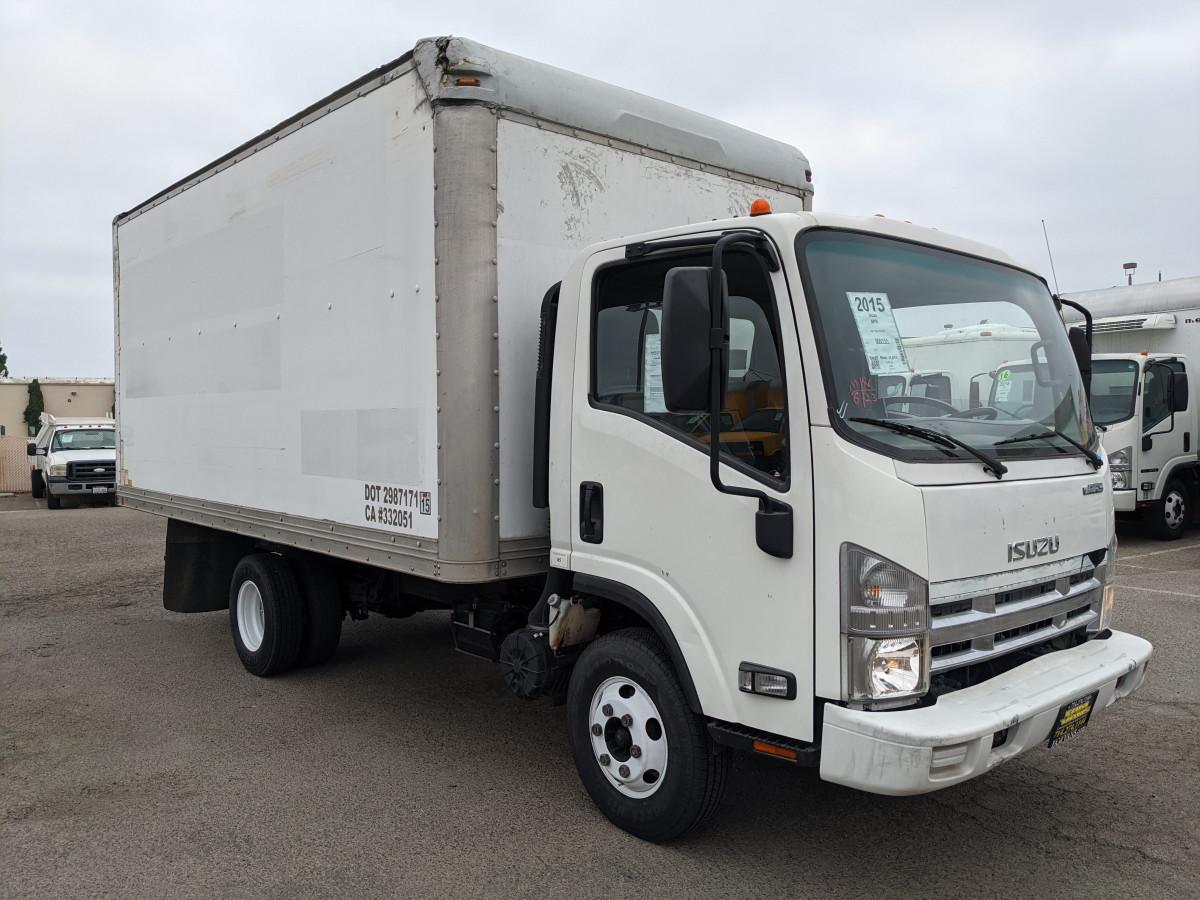 Used 2015 Isuzu NPR 16FT Box Truck in Fountain Valley, CA