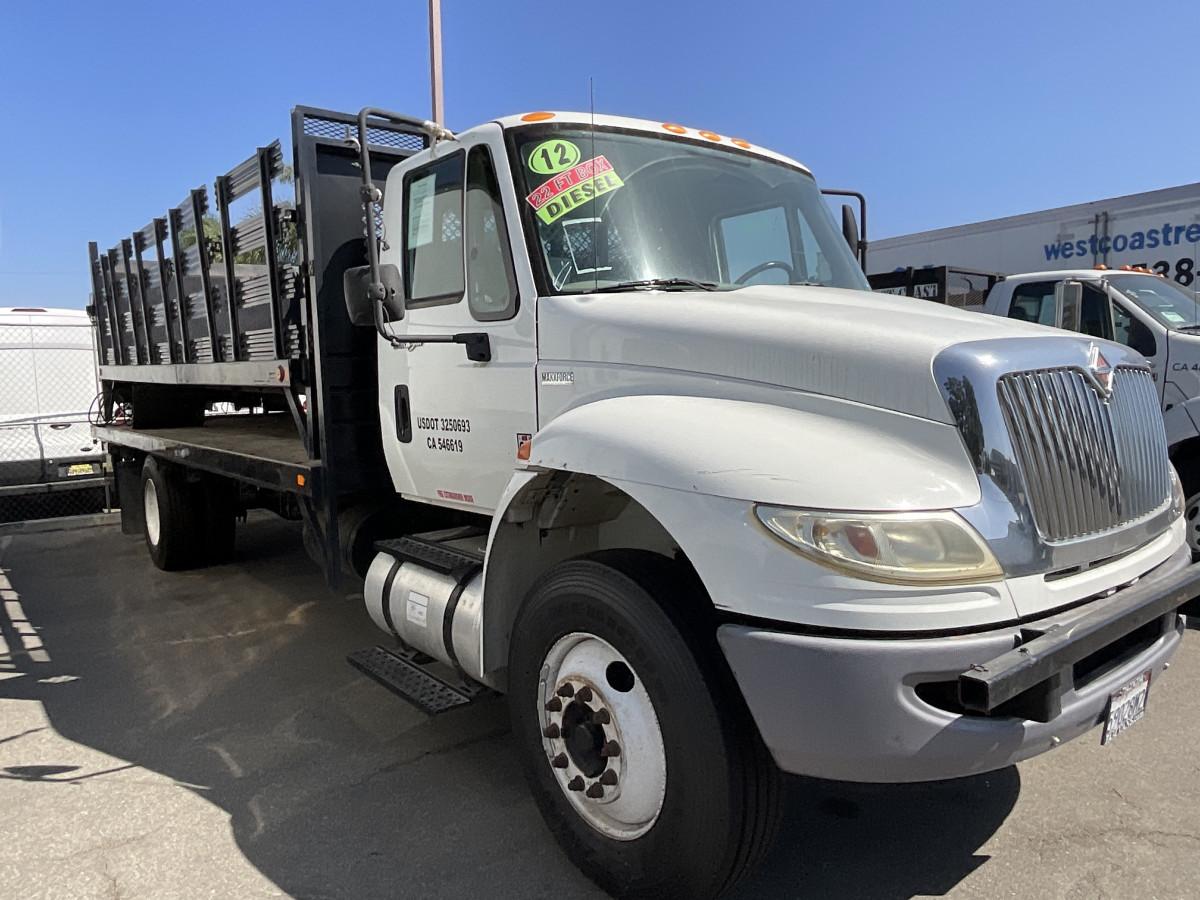 Used 2012 International Durastar 4300 22FT Stake Bed Truck DIESEL in Fountain Valley, CA