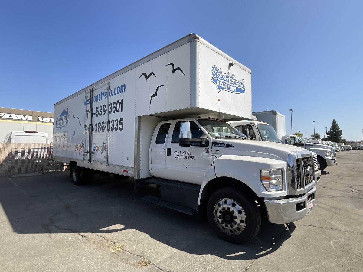 Used 2017 Ford F-750 SD 26FT Box Truck  in Fountain Valley, CA