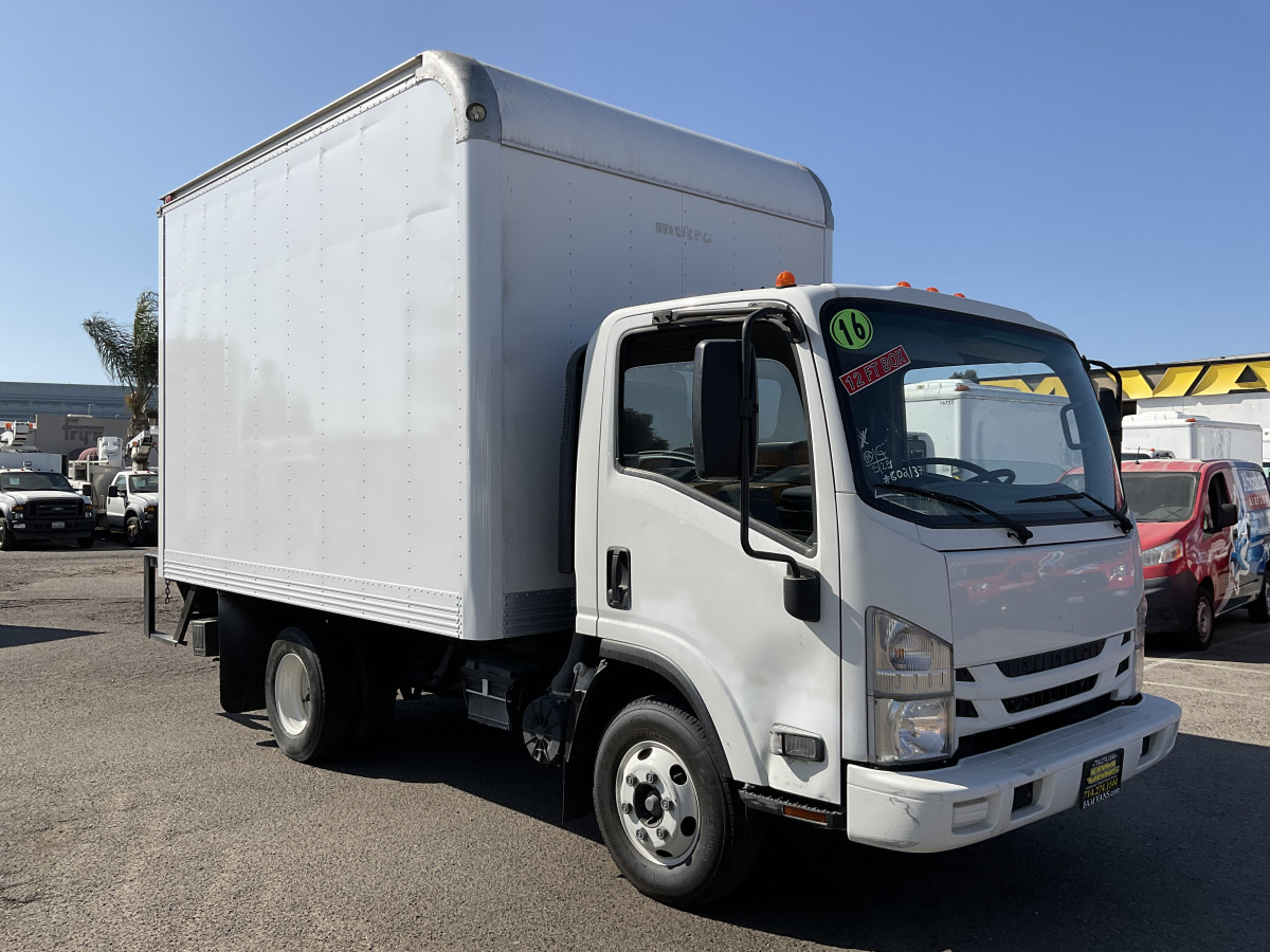 Used 2016 Isuzu NPR 12FT Box Truck with Liftgate in Fountain Valley, CA