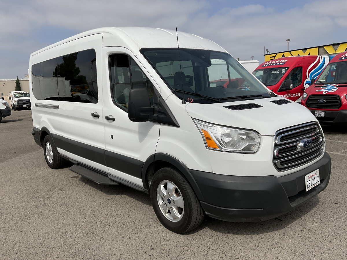 Used 2017 Ford Transit-350 Long Mid Roof Passenger Van XL in Fountain Valley, CA