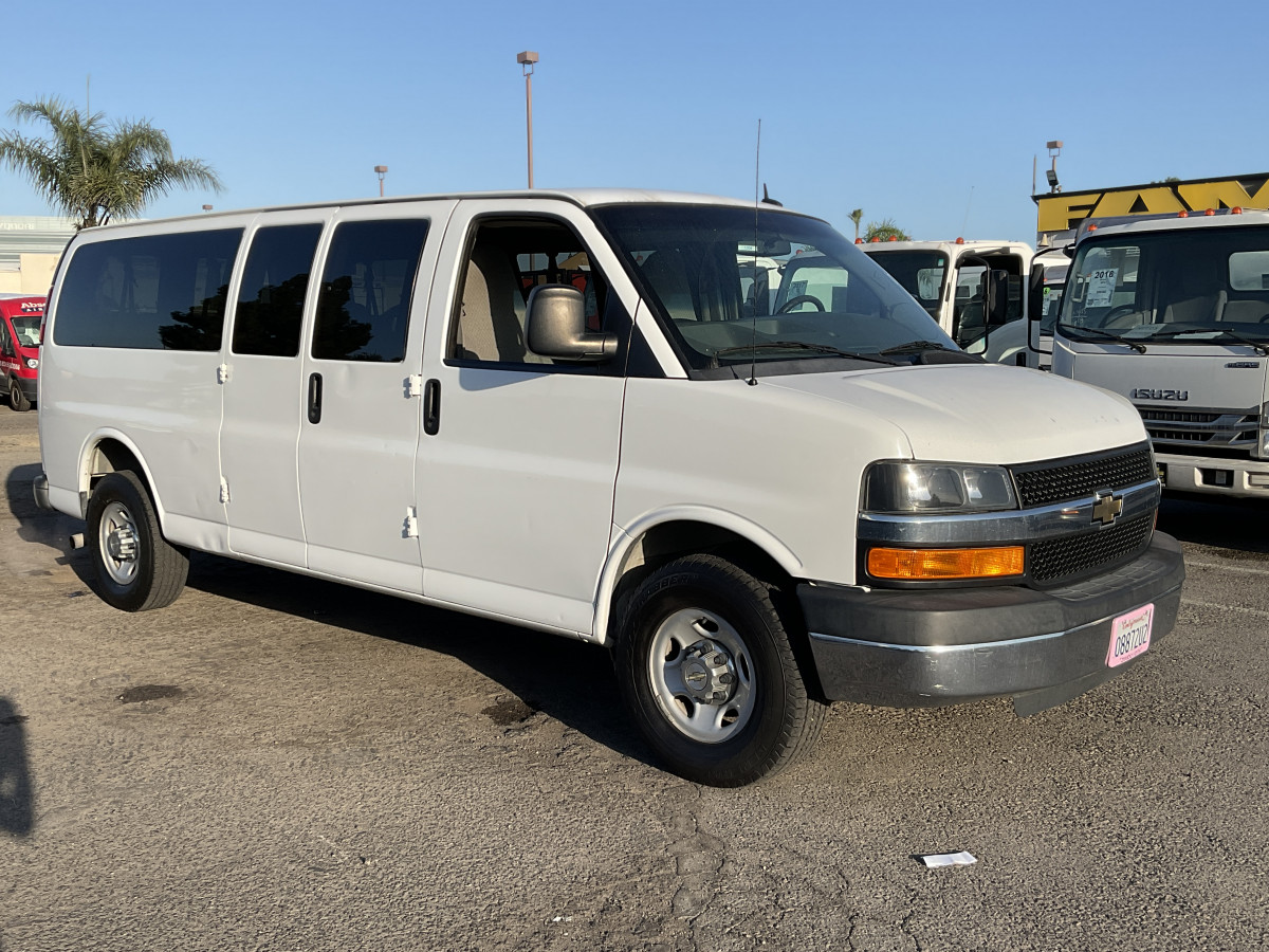 Used 2015 Chevrolet Express 3500 Extended Passenger Van in Fountain Valley, CA