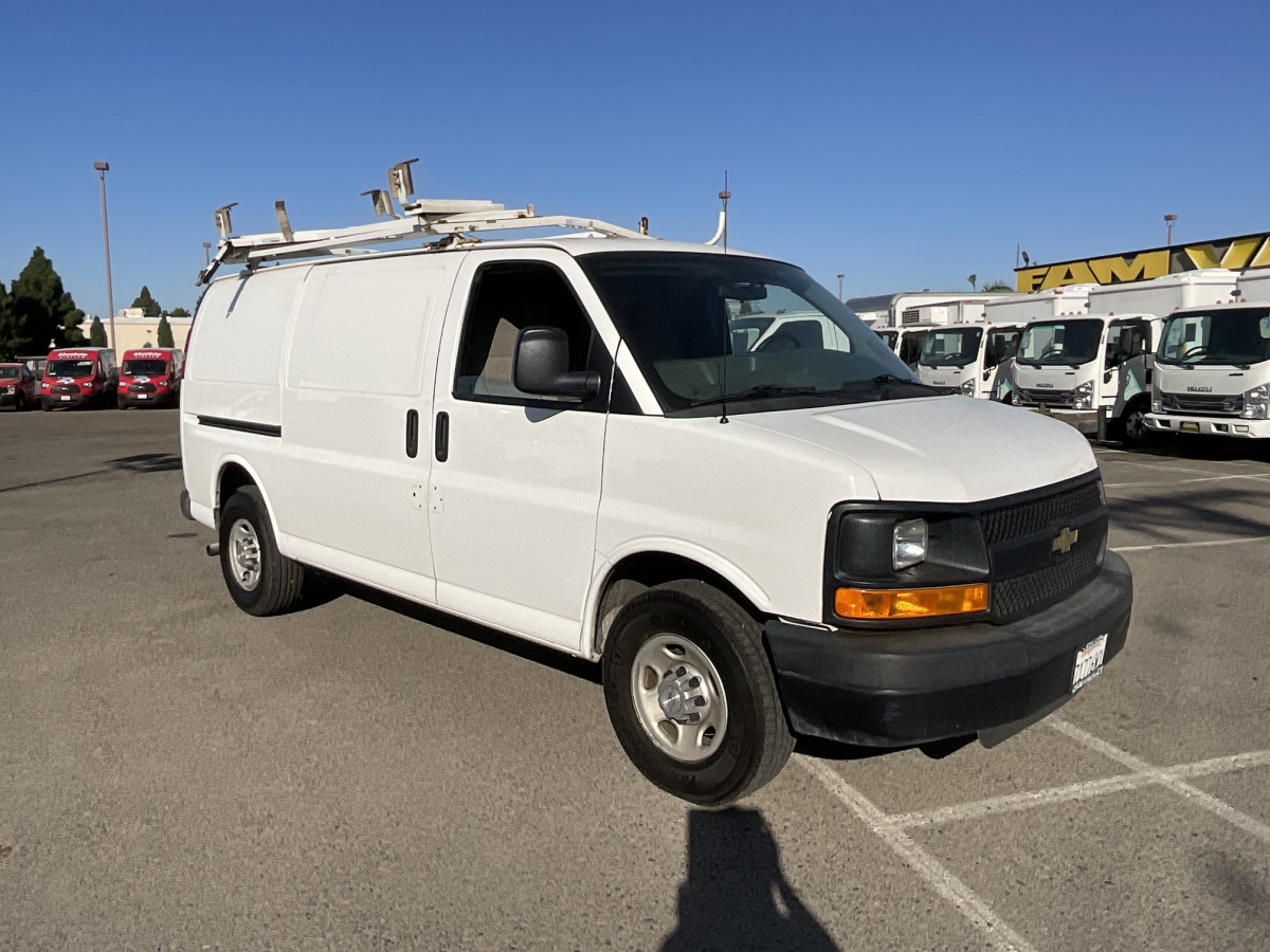 Used 2015 Chevrolet Express 2500 Utility Cargo Van in Fountain Valley, CA