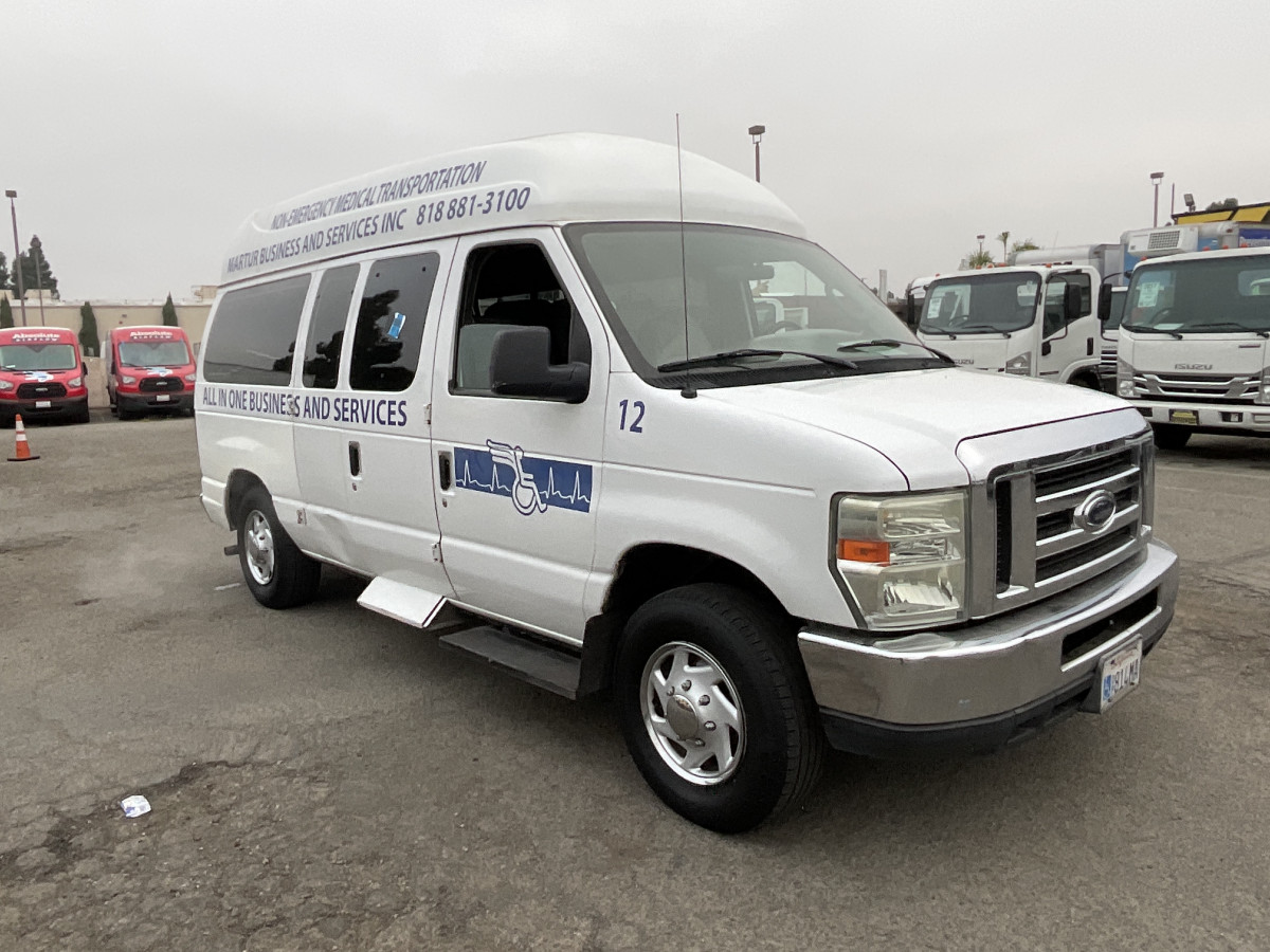 Used 2008 Ford E-150 High Roof Wheelchair Access Handicap Van in Fountain Valley, CA