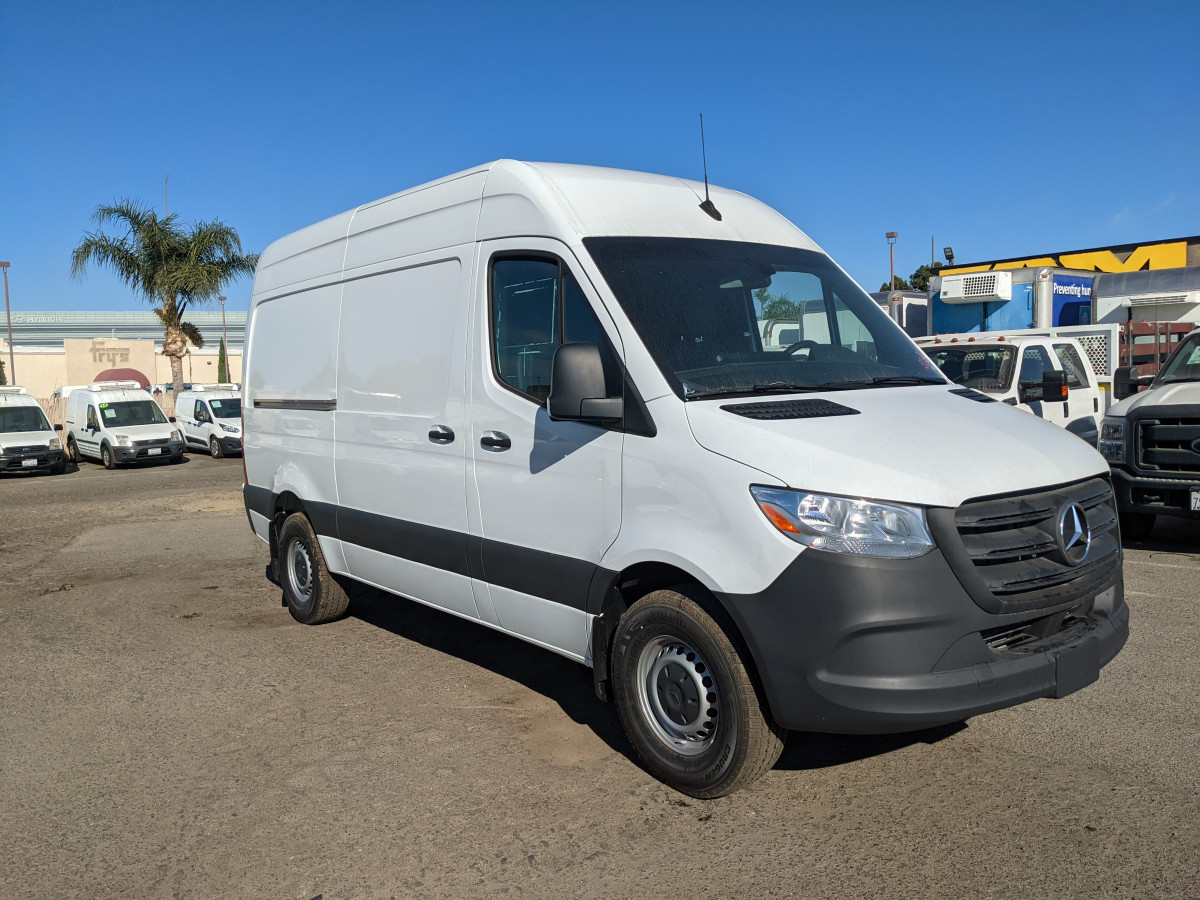 Used 2021 Mercedes-Benz Sprinter 2500 High Roof Cargo Van 144WB in Fountain Valley, CA