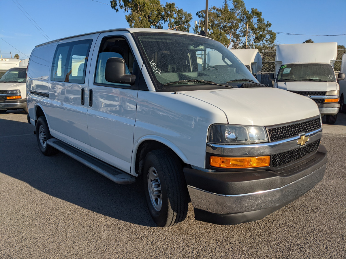 Used 2019 Chevrolet Express 2500 Cargo Van in Fountain Valley, CA
