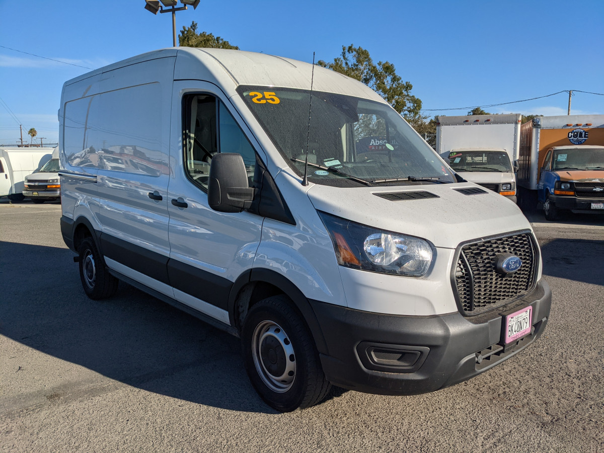 Used 2021 Ford Transit-250 Mid Roof Cargo Van in Fountain Valley, CA