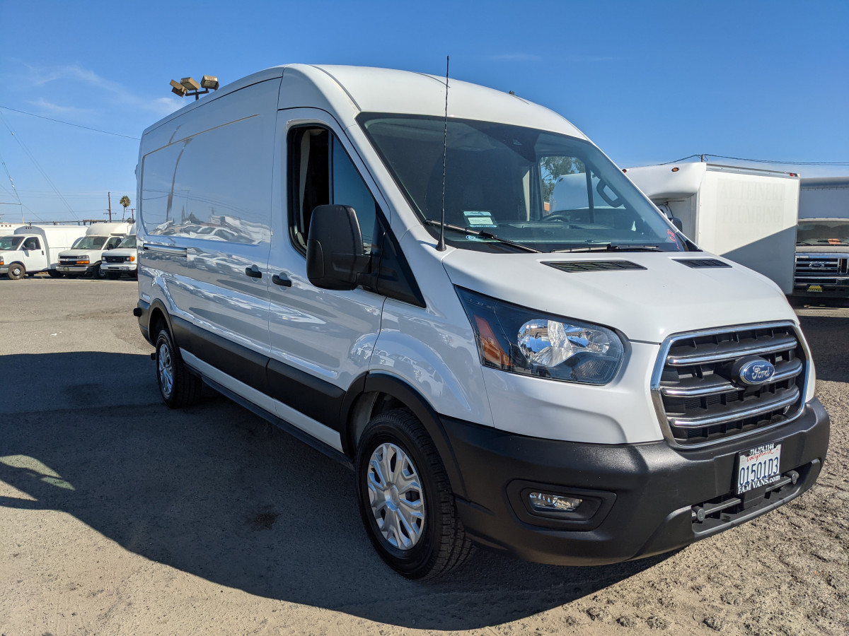 Used 2020 Ford Transit-250 Long Mid Roof Cargo Van in Fountain Valley, CA